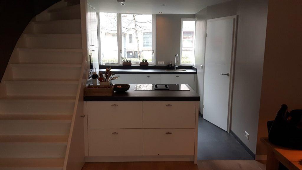 Keuken Met Trap : Keuken met geïntegreerde trap u pietervanderveen